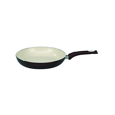 (24cm) - ELO Pure Aubergine Kitchen Induction Cookware Frying Pan with Ther