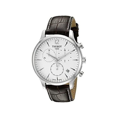 Tissot T0636171603700 Tradition Men's Chrono Quartz Silver Dial Watch with