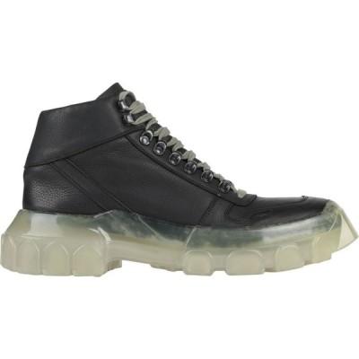 リック オウエンス RICK OWENS メンズ ブーツ シューズ・靴 boots Black