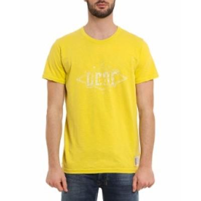 ディーゼル メンズ シャツ トップス Men's Diego Graphic T-Shirt YELLOW
