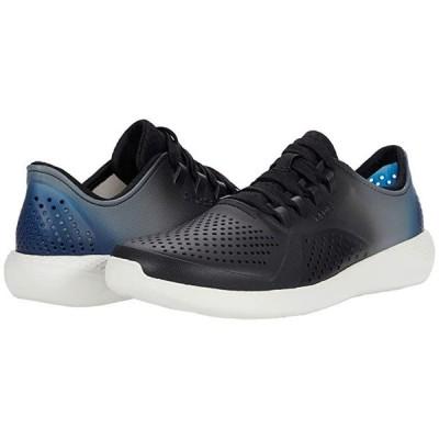 クロックス LiteRide Color Dip Pacer メンズ スニーカー 靴 シューズ Black/Almost White