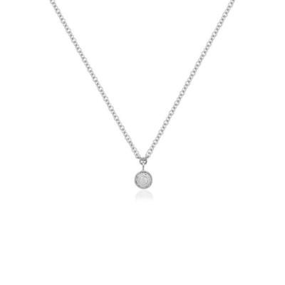 モニカ ヴィナダー MONICA VINADER レディース ネックレス ジュエリー・アクセサリー Fiji Diamond Pendant Necklace Sterling Silver