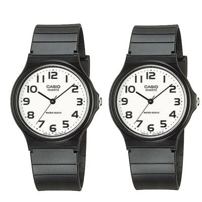 【ペアウォッチ】 カシオ 腕時計 CASIO 時計 カシオ 時計 CASIO 腕時計 メンズ レディース ユニセックス チープカシオ チプカシ ホワイト MQ-24-7B2 MQ-24-7B2