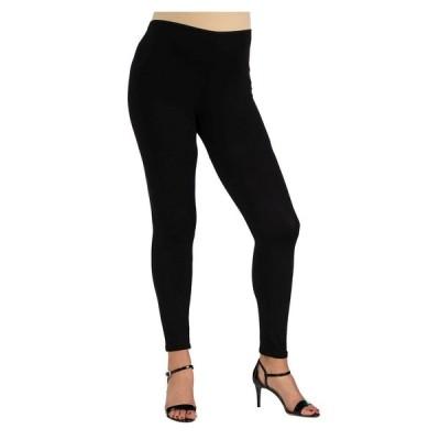 24セブンコンフォート カジュアルパンツ ボトムス レディース Women's Stretch Ankle Length Maternity Leggings Black