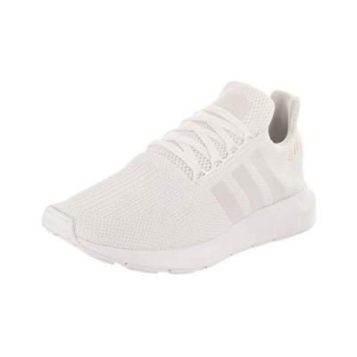 adidas Originals Women's Swift Run Sneaker, White/Crystal White/White, 10.5 M US