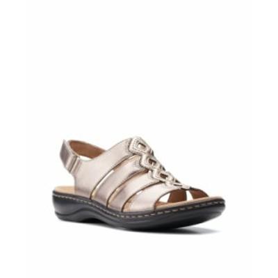 クラークス レディース サンダル シューズ Women's Collection Leisa Ruby Sandals Metallic Synthetic