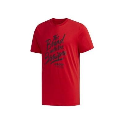 アディダス(adidas) グラフィックTシャツ GVB73-FM6225 オンライン価格 (メンズ)