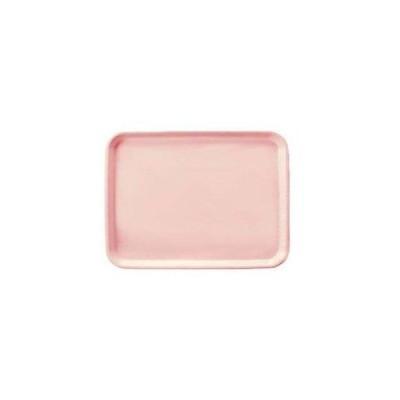 ノーブランド 商品コード:1267500 長角トレイ AP-440-P ピンク FRP