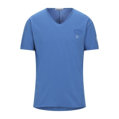グレイ ダニエレ アレッサンドリーニ GREY DANIELE ALESSANDRINI T シャツ ブルー L コットン 100% T シャツ