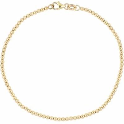 ボニー レヴィ BONY LEVY レディース ブレスレット ジュエリー・アクセサリー 14K Gold Beaded Bracelet 14ky