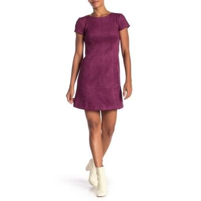 ヴィンスカムート レディース ワンピース トップス Cap Sleeve Fit & Flare Dress PURPLE