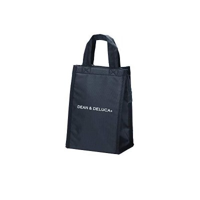 DEAN & DELUCA クーラーバッグ ブラックS 保冷バッグ ファスナー付き コンパクト お弁当 ランチバッグ h260xw175xd130mm