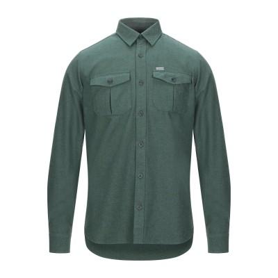 カーハート CARHARTT シャツ グリーン L コットン 100% シャツ