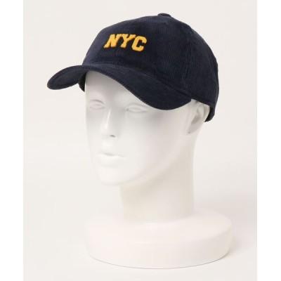 Right-on / 【BACK NUMBER】カレッジコーデュロイキャップ MEN 帽子 > キャップ