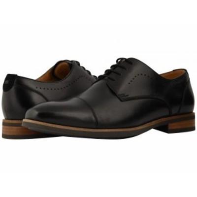 Florsheim フローシャイム メンズ 男性用 シューズ 靴 オックスフォード 紳士靴 通勤靴 Uptown Cap Toe Oxford Black【送料無料】