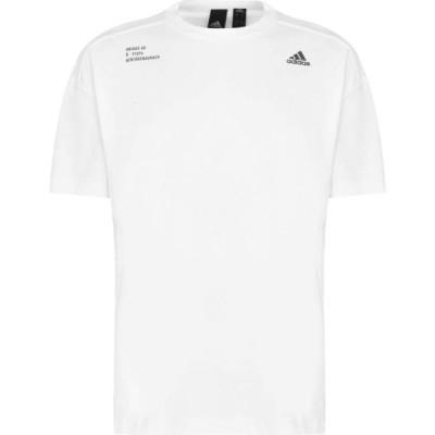 アディダス adidas メンズ Tシャツ トップス Athletics Tech T-Shirt White