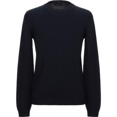 ロベルトコリーナ ROBERTO COLLINA メンズ ニット・セーター トップス sweater Dark blue
