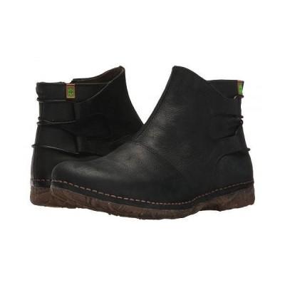 El Naturalista エルナチュラリスタ レディース 女性用 シューズ 靴 ブーツ アンクルブーツ ショート Angkor N917 - Black