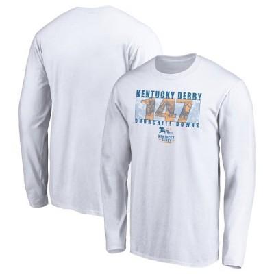 ファナティクス ブランデッド メンズ Tシャツ トップス Kentucky Derby 147 Fanatics Branded Thoroughbred Long Sleeve T-Shirt