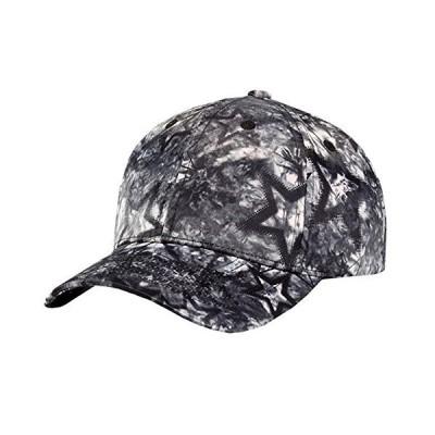 BUZZxSELECTION(バズ セレクション) キャップ 帽子 おしゃれ グラフィック ペイント スター 星 黒 メンズ CAP028 (01 ブ