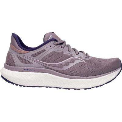 サッカニー Saucony レディース ランニング・ウォーキング シューズ・靴 Hurricane 23 Running Shoes Zinc/Black
