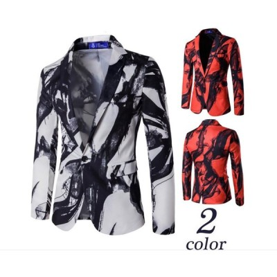 2色  メンズテーラードジャケット ブレザー カジュアルスーツ  ビジネススーツ ジャケット コート お洒落個性