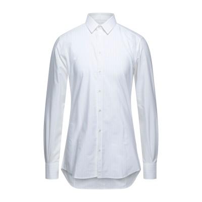 ドルチェ & ガッバーナ DOLCE & GABBANA シャツ ホワイト 43 コットン 100% シャツ