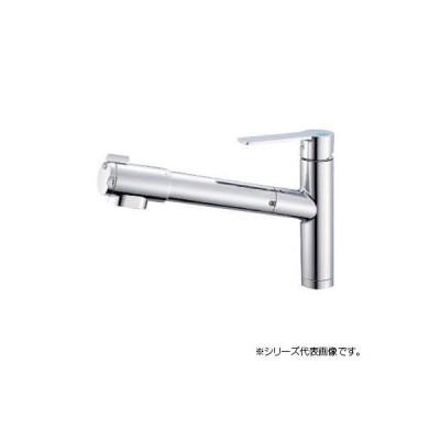 三栄 SANEI column シングル浄水器付ワンホールスプレー混合栓 K87580E1JV-13 キッチン用