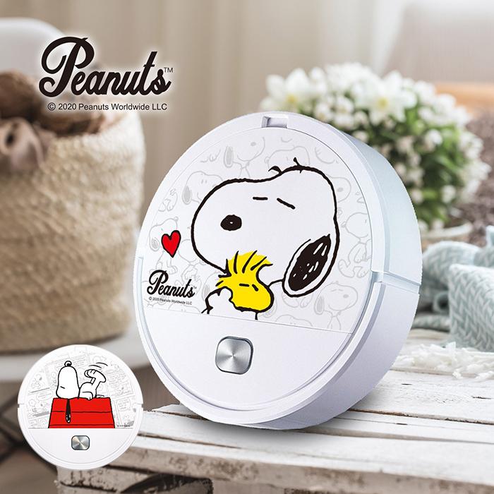 【正版授權】史努比 Snoopy 掃吸拖 三合一 掃地機器人 (app搶購特賣)紅屋