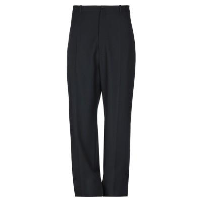 バレンシアガ BALENCIAGA パンツ ブラック 46 ウール 50% / ポリエステル 50% パンツ