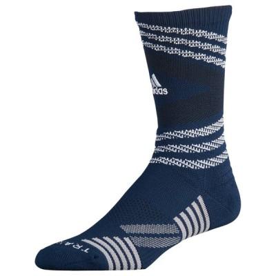 アディダス adidas ユニセックス バスケットボール speed mesh team crew socks Collegiate Navy/White/Black/Light Onix