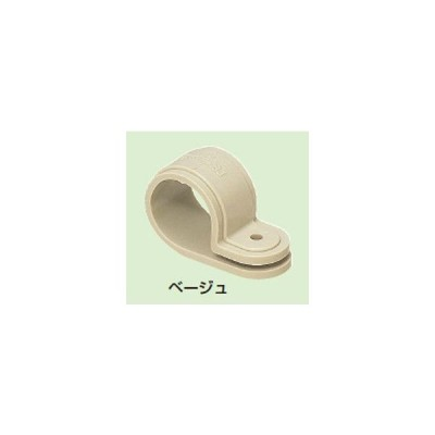 未来工業 【販売単位:50/袋】〓PF管片サドル 色:ベージュ 適合管:PF管14〓KTF-14J