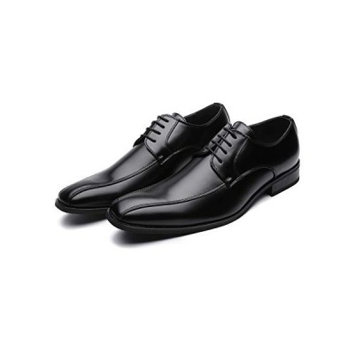 [TOKYO BROTHER] [東京ブラザー] メンズ ビジネスシューズ 紳士靴 ドレスシューズ クッション性 防滑 602 (28 BLACK)