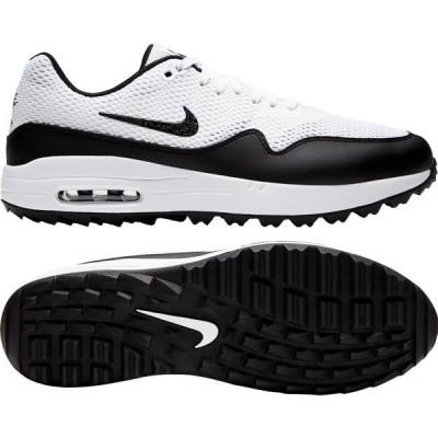 【当日出荷】 ナイキ メンズ Nike Men's 2020 Air Max 1 G Golf Shoes White/Black 【サイズ 25.5cm】