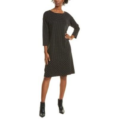 ジョアンバス レディース ワンピース トップス Joan Vass Studded Midi Dress black