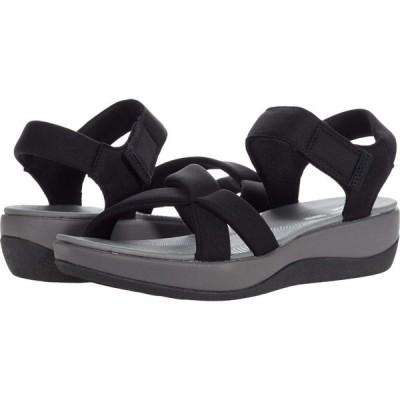 クラークス Clarks レディース サンダル・ミュール シューズ・靴 Arla Gracie Black Textile