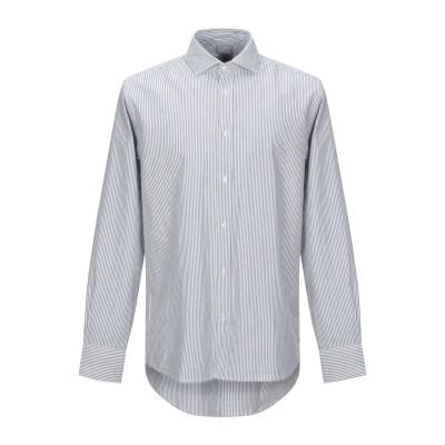 R3D WÖÔD シャツ ホワイト M コットン 100% シャツ