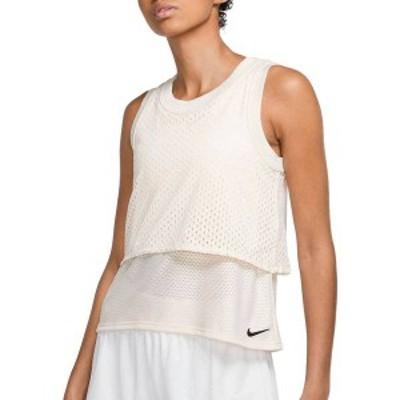 ナイキ レディース シャツ トップス Nike Women's NikeCourt Dri-FIT Reversible Tennis Tank Top Guava Ice