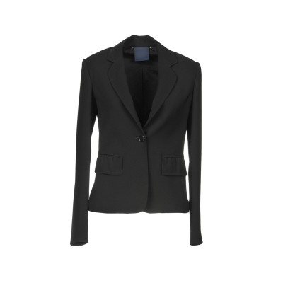 アスペジ ASPESI テーラードジャケット ブラック 40 ポリエステル 100% テーラードジャケット
