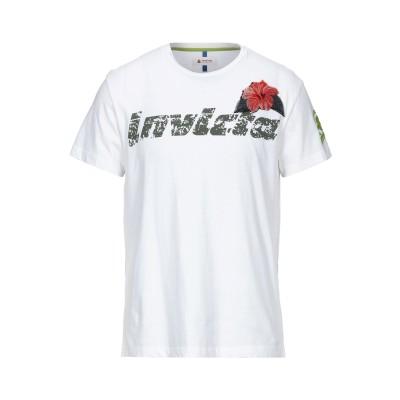 インヴィクタ INVICTA T シャツ ホワイト L コットン 100% T シャツ