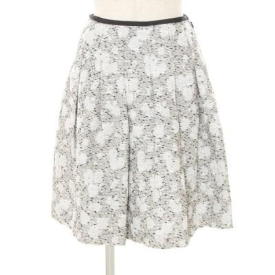 エムズグレイシー スカート フラワーモチーフ 総柄 36