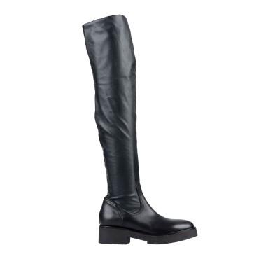 ストラテジア STRATEGIA ブーツ ブラック 36 革 ブーツ