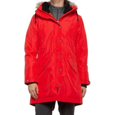 カミック Kamik レディース ダウン・中綿ジャケット アウター Liona Long Parka - Waterproof, Insulated Red