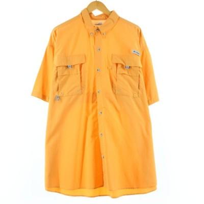 コロンビア Columbia PFG OMNI-SHADE ボタンダウン 半袖 フィッシングシャツ メンズXXL /eaa156906