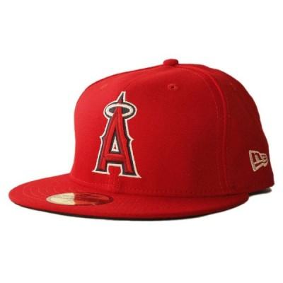 ニューエラ ベースボールキャップ 帽子 NEW ERA 59fifty メンズ レディース MLB ロサンゼルス エンゼルス オブ アナハイム rd