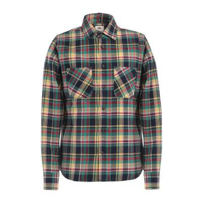 SCOUT シャツ グリーン XS コットン 100% シャツ