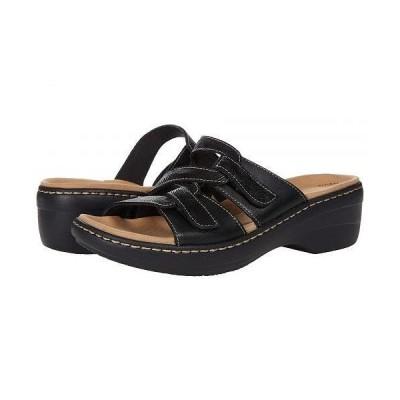 Clarks クラークス レディース 女性用 シューズ 靴 ヒール Merliah Karli - Black Leather