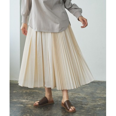 pual ce cin / ランダムプリーツスカート WOMEN スカート > スカート