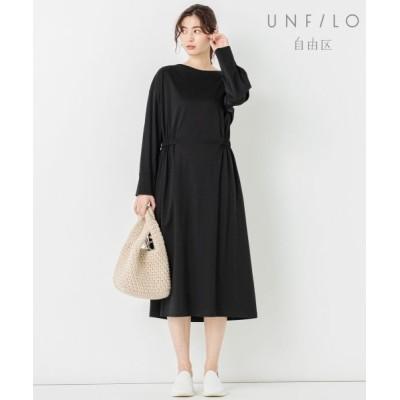 自由区 Unfilo/アンフィーロ ジユウク 【UNFILO】PONCH MOOD ワンピース ブラック系 38