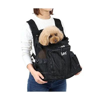 NEW 犬 キャリー リュック ペットパラダイス Lee ハグ&リュック キャリーバッグ 【小型犬】 黒デニム ブラ?